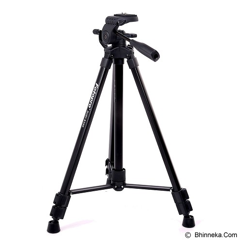 FOTOPRO Camera Tripod [DIGI 9300] - Black (Merchant) - Tripod Combo With Head